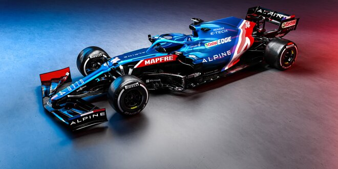 Alpine stellt Fernando Alonsos A521 vor - Neue Farbe, neuer Name, neue Ära