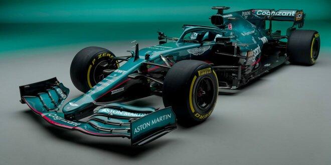 """Aston Martin AMR21: Das ist Sebastian Vettels neues F1-Auto - """"Hier, um Weltmeister zu werden!"""""""