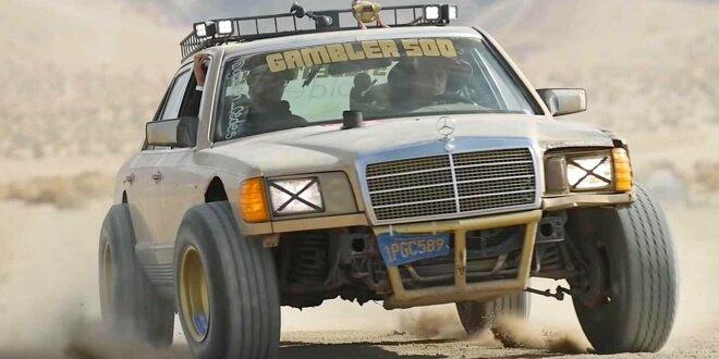 Mercedes 300 SD von 1982 als irrer Geländewagen-Umbau - Liebhaber müssen ganz tapfer sein