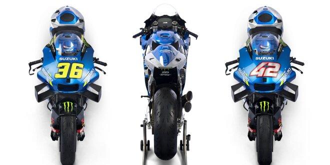 Letztes MotoGP-Team lässt die Hüllen für 2021 fallen -  Suzuki zeigt neue GSX-RR in Katar