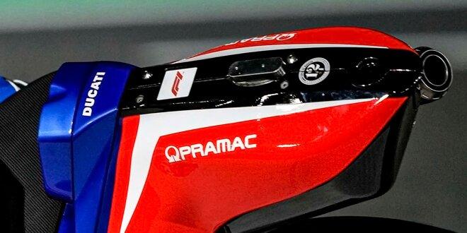 Was es mit vermeintlicher Konkurrenz-Werbung auf sich hat - F1-Logo auf Pramacs MotoGP-Bikes