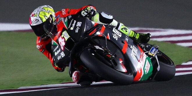 MotoGP-Test Katar Samstag: Alle Teams auf der Strecke - Aprilia-Bestzeit mit Aleix Espargaro