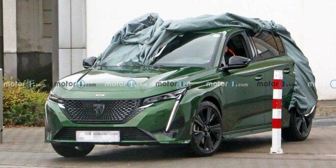 Franzosen-Golf wird richtig scharf und bekommt das neue Logo - Neuer Peugeot 308   erwischt!