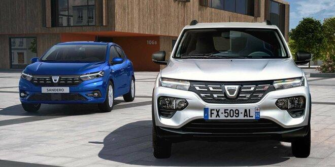 Kampf der Sparfüchse -  Dacia Spring gegen Dacia Sandero