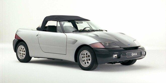 Ford hätte schon  1983 seinen eigenen MX-5 haben können - Vergessene Studien: Ghia Barchetta