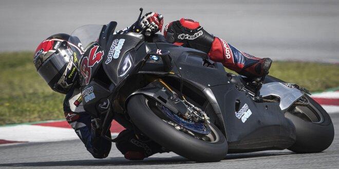 WSBK-Rookie Jonas Folger beim Barcelona-Test auf Position vier -  Folger vom BMW-Motor begeistert