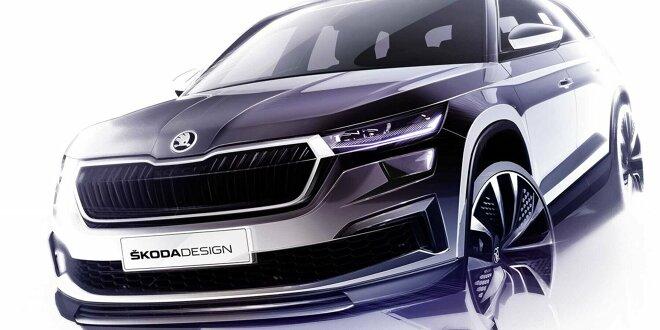 Designskizzen machen Lust auf das SUV-Facelift - Erster Eindruck