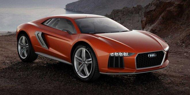 Vergessene Studien: Wie wäre es mit einem R8 fürs Gelände? -  Audi Nanuk quattro (2013)