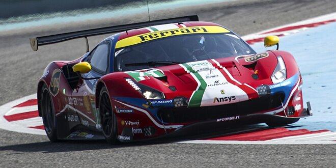 Nach dem Bekenntnis von Porsche -  Ferrari bleibt in der GTE Pro