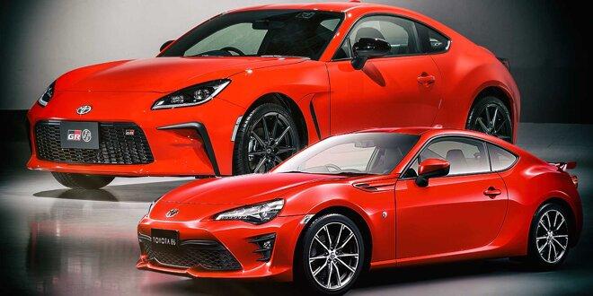 Toyota GR 86 und GT86 im Vergleich -  Nur ein sehr großes Facelift?