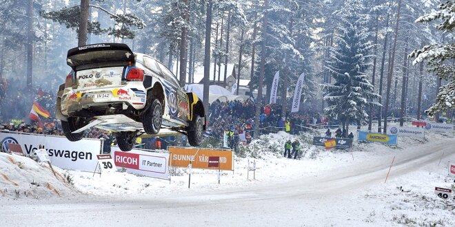 Schneesicherere Region gefunden: -  Rallye Schweden an neuem Ort