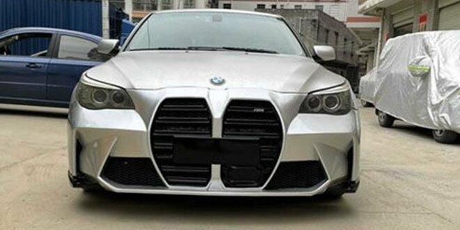 Sie können aber auch die M2-Niere haben ... - Neuer M3-Grill am alten BMW 5er