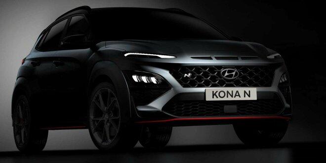 Hyundai Kona N bekommt Achtgang-Doppelkupplungsgetriebe - Premiere steht kurz  bevor