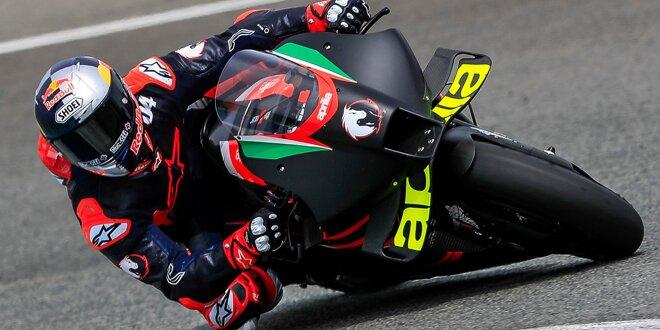 Andrea Dovizioso bilanziert ersten Test, bestätigt zweiten - Auf Aprilia-Geschmack gekommen