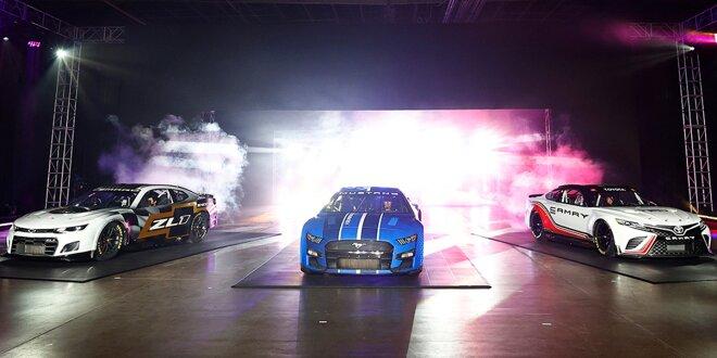 Gen7-Autos für neue NASCAR-Ära ab 2022 präsentiert -  Chevrolet, Ford, Toyota decken auf
