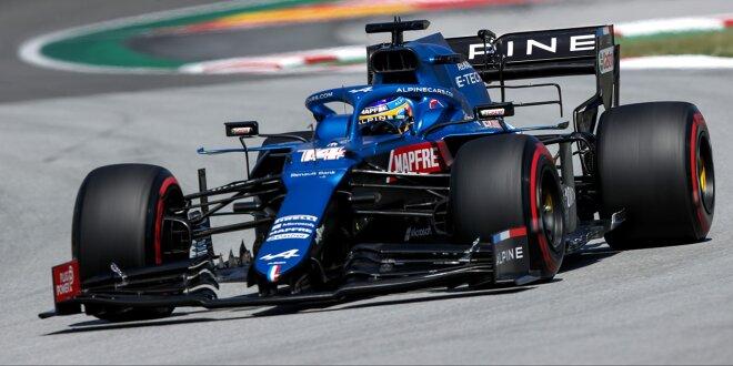 """Fernando Alonso gibt zu: Bin langsamer als Esteban Ocon - """"Bin zwei, drei Zehntel langsamer"""""""