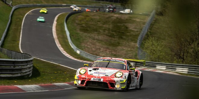 Auch Zusatzgewicht bremst nicht ein -  Porsche dominiert am Ring