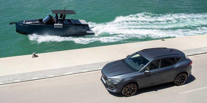 Eine Yacht aus Barclona - Die 400-PS Formentor von Cupra