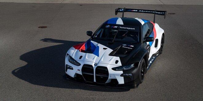 BMW enthüllt M4 GT3 -  Noch länger als der M6 GT3!