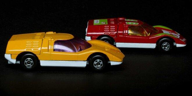 Japans Antwort auf den Mercedes C 111 wurde in klein legendär -  Hatten Sie dieses Matchbox-Auto?