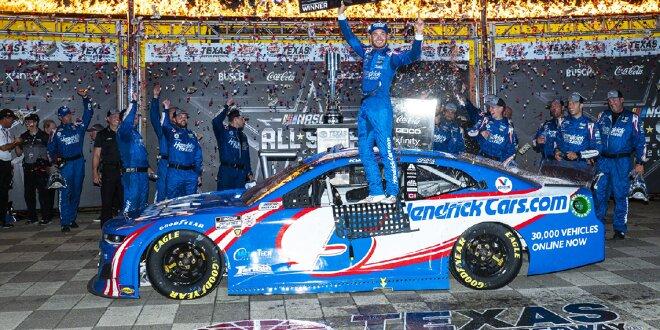 Triumph bei heißer Texas-Premiere - Kyle Larson gewinnt All-Star-Race