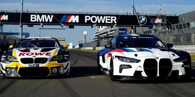 """Tomczyk und Scheider vergleichen BMW M4 und M6 GT3 -  """"M4 kaschiert größere Fläche gut"""""""