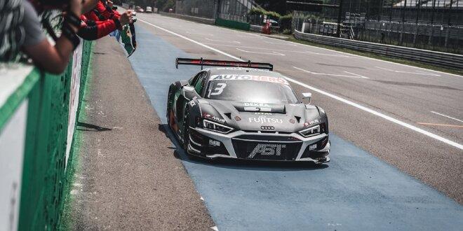 Audi-Doppelerfolg in Monza, Samstag-Sieger Lawson crasht - Geburtstags-Sieg für van der Linde