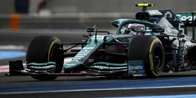 """Sebastian Vettel nach P9 in Le Castellet: -  """"Vielleicht war mehr drin!"""""""
