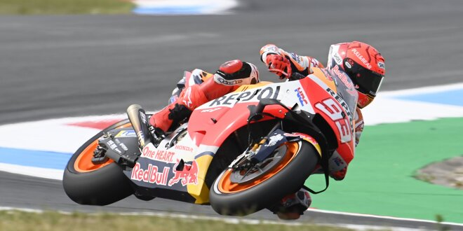 MotoGP-Liveticker Assen: Regen stört Nachmittagstraining - LIVE: Marquez schwer gestürzt