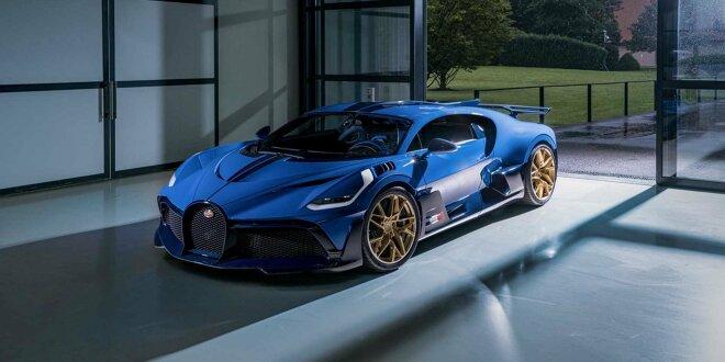 Letzter Bugatti Divo geht an einen europäischen Kunden - 40. Auto ausgeliefert