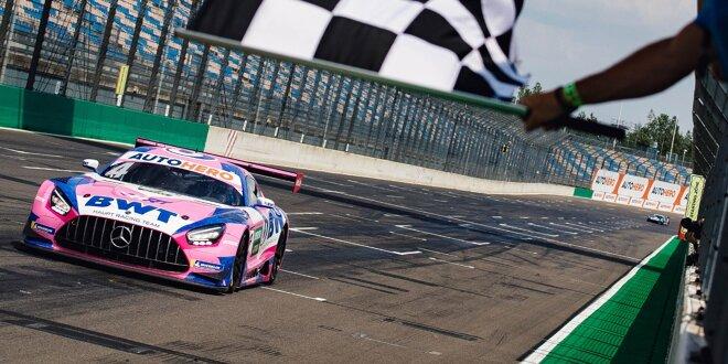 Erster DTM-Triumph für HRT-Mercedes-Pilot - Götz siegt nach Abt-Audi-Drama