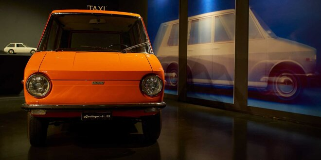 Optisch und technisch Zukunftsmusik -  Fiat 850 City Taxi von 1968