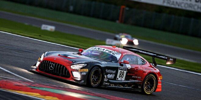 Mercedes-AMG führt Quali zu den 24h Spa an, - Drama um Top-Audi von WRT