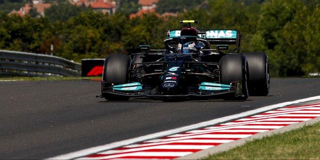 Mercedes-1/2 im zweiten Freien Training auf dem Hungaroring - Bottas sieht Chance auf Pole
