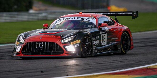 Überraschung durch McLaren, Mercedes-AMG auf Pole -  Marciello macht's erneut