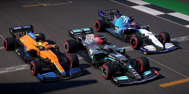 F1 2021 -  V1.05-Update für PC- und Konsolengamer zum Durchstarten