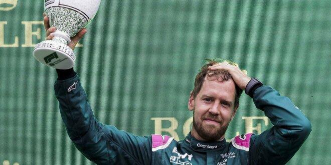 Zu wenig Sprit im Tank nach Rennende: - Vettel disqualifiziert!