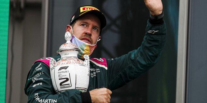 Offizielle FIA-Dokumente führen Sebastian Vettel auf Platz zwei - Vettel bleibt P2: Wie bitte?