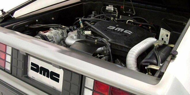 Der Motor kam auch im DeLorean zum Einsatz -  Französisch-schwedische Mischung