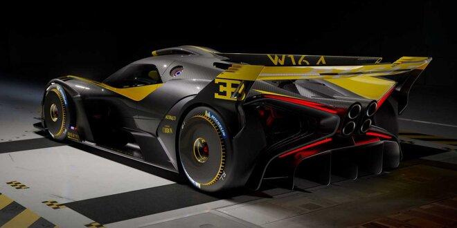 Bugatti Bolide auf dem Weg -  Jetzt geht das Hypercar in Serie