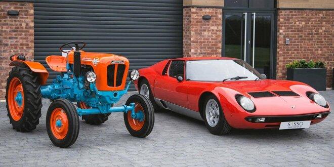 Exemplar des 1R-Traktors von 1966 mit 32 PS steht zum Verkauf - Lust auf langsamsten Lamborghini?