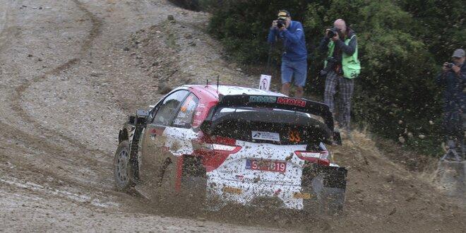 Nach Getriebe-Drama bei der Akropolis-Rallye: - Hat Evans noch Titelchancen?