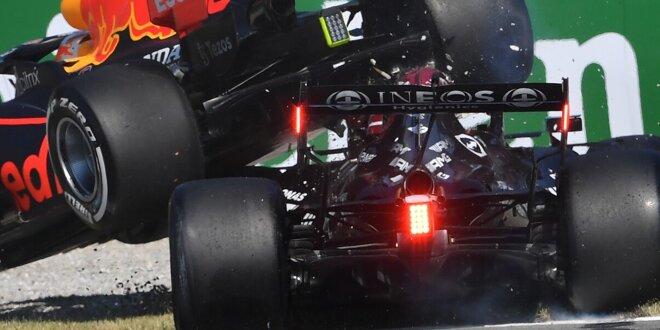"""Wissenschaftler erklärt Sicherheitswirkung beim Monza-Crash - """"Hamilton hatte kein Glück"""""""