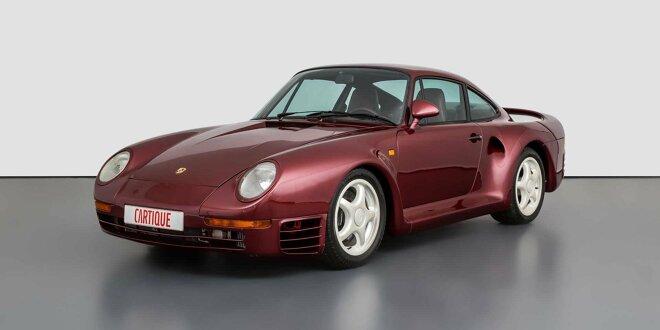 Das dürfte nicht billig werden ... - Seltener Prototyp des Porsche 959