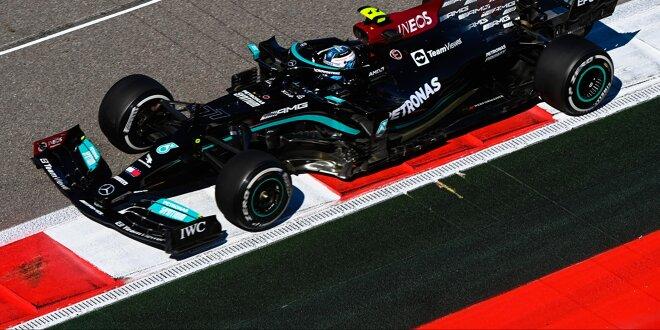 Bottas zweimal Schnellster, Verstappen aus dem Rennen - Es läuft alles für Mercedes!