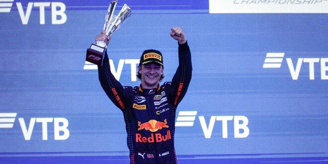 """Dennis Hauger spricht über seine Leistungsexplosion - Formel-3-Meistertitel """"surreal"""""""