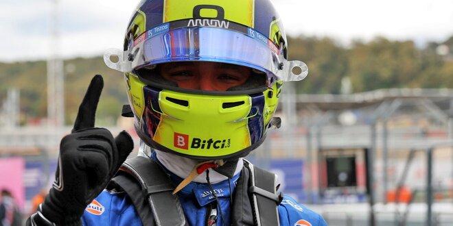 Mercedes-Duo bei abrocknender Strecke schwer geschlagen - Norris vor Sainz und Russell!