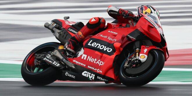 MotoGP-Liveticker: Verregneter Freitag in Misano - LIVE: Jetzt die zweiten Trainings