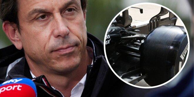 F1-Talk: Was wir wissen bislang über die Situation wissen - Trickst Mercedes mit Aufhängung?
