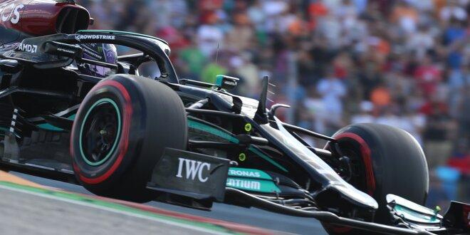 "Mercedes' wechselhafte Form im Austin-Training: - ""Wirklich gut"" & ""Rückschritt""!"
